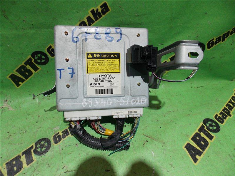 Блок управления abs Toyota Progres JCG10 1JZ-GE 2000