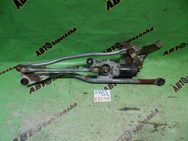 Механизм дворников Nissan March AK12 CR12(DE) 2003