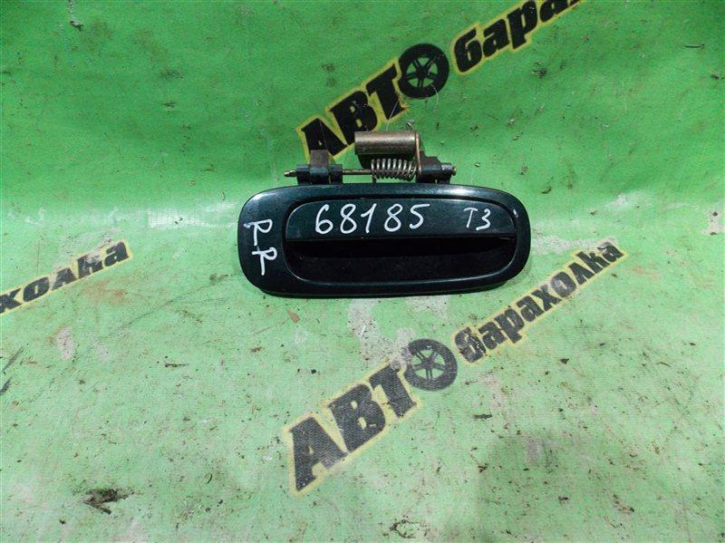 Ручка двери внешняя Toyota Sprinter AE110 5A-FE 1996 задняя правая