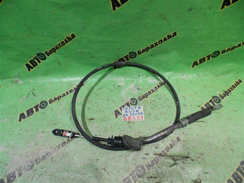 Трос переключения акпп Toyota Rush J200E 3SZ-FE 2005