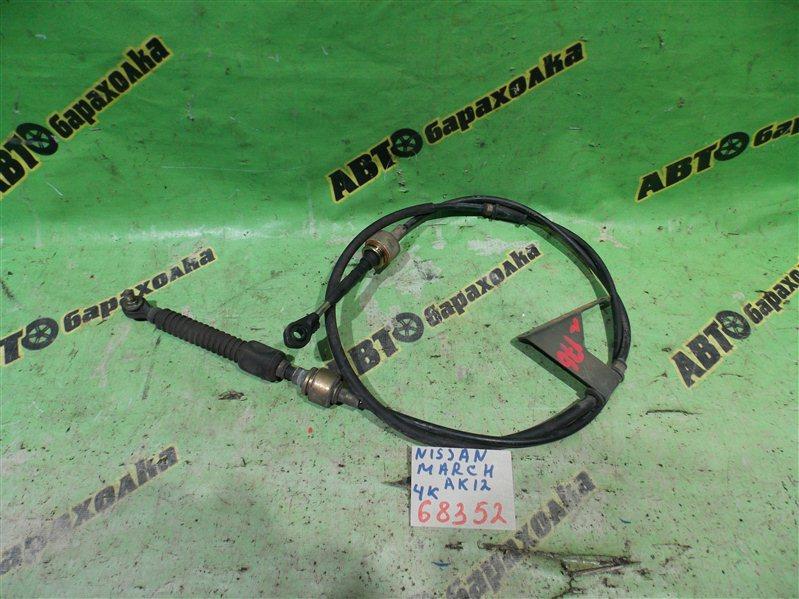 Трос переключения акпп Nissan March AK12 CR12(DE) 2003