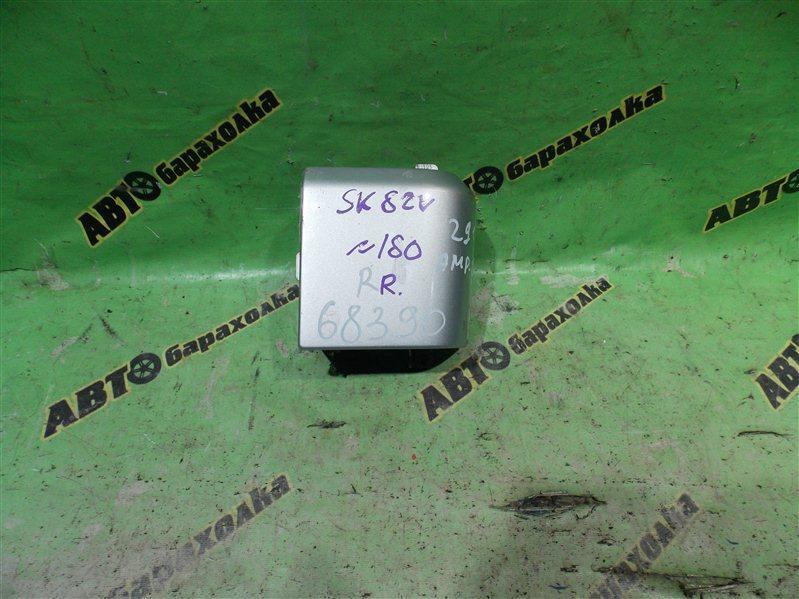 Планка под стоп Mazda Bongo SK82V F8 2002 задняя правая