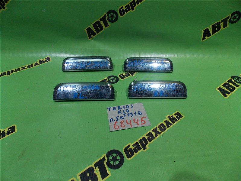 Ручка двери внешняя Daihatsu Terios Kid J131G EF-DEM