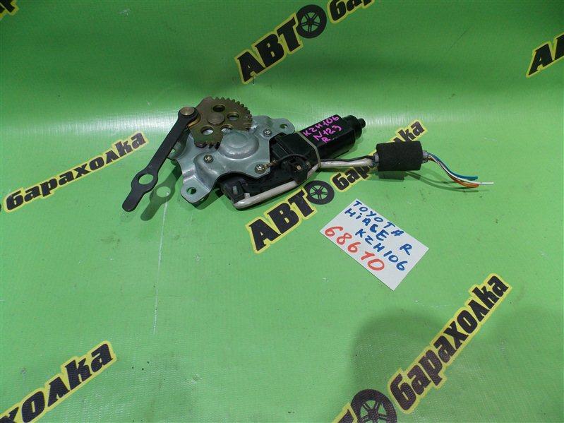 Мотор дворников Toyota Hiace KZH106 1KZ-TE 1996 задний