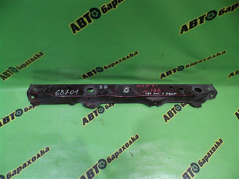 Планка телевизора Toyota Bb NCP31 1NZ-FE 2002 нижняя