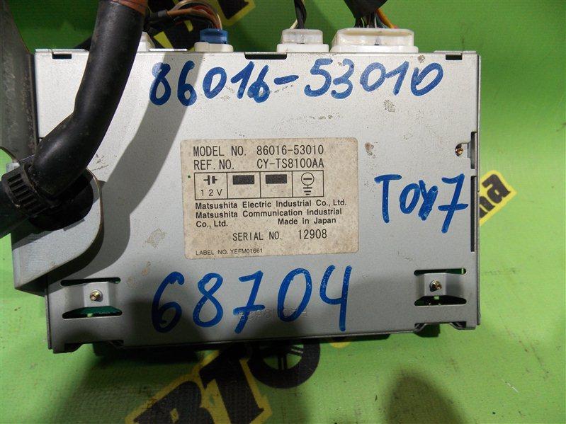 Блок управления навигацией Toyota Mark Ii JZX110 1JZ-FSE 2002