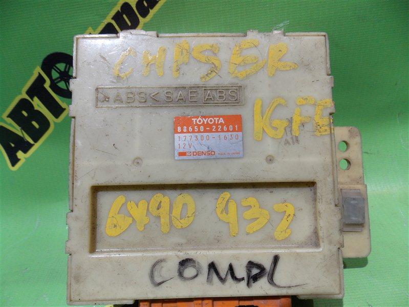 Блок abs Toyota Chaser GX90 1G-FE