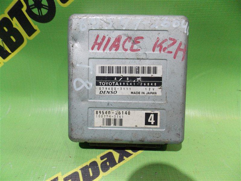 Блок управления abs Toyota Hiace KZH 106 1KZTE