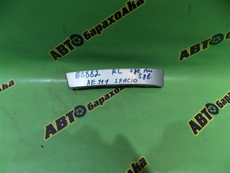 Планка под стоп Toyota Corolla Spacio AE111 задняя левая