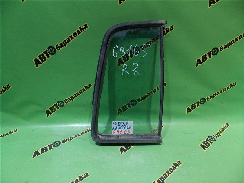 Форточка двери Toyota Raum NCP20 задняя правая