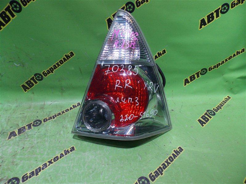 Стоп Daihatsu Yrv M201G K3-VET 2001 задний правый