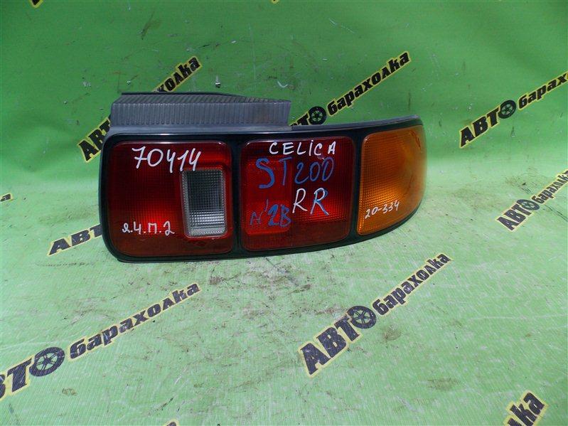 Стоп Toyota Celica ST202 3S-GE 1994 задний правый