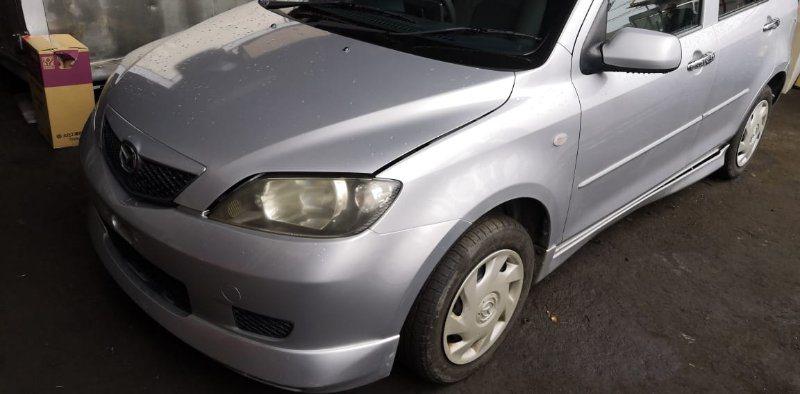 Капот Mazda Demio DY3W ZJ 2002 передний