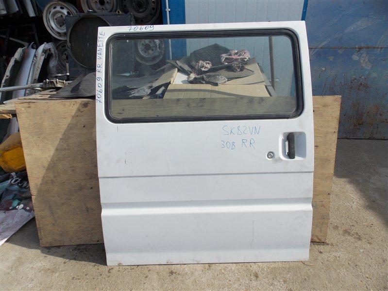 Дверь боковая (раздвижная) Nissan Vanette SK82VN F8 2002 правая