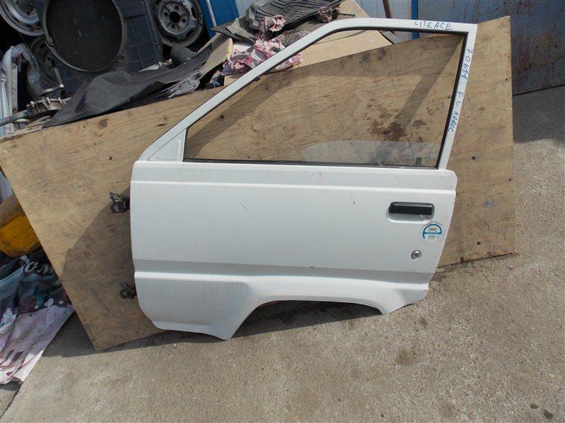 Дверь Toyota Liteace KM36 5K 1989 передняя левая