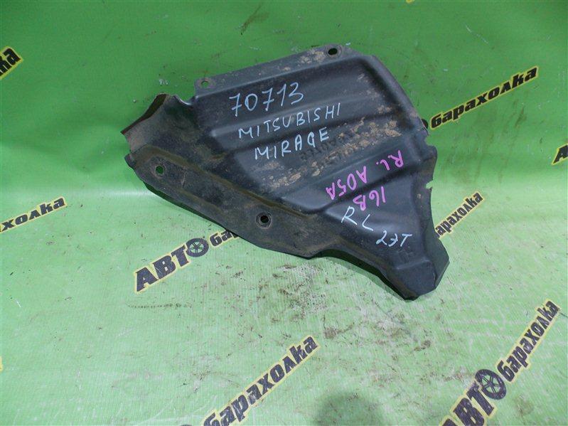 Подкрылок Mitsubishi Mirage A05A 3A90 2012 задний левый