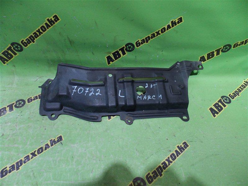 Защита двигателя Nissan March K11 CG10(DE) 1999 левая