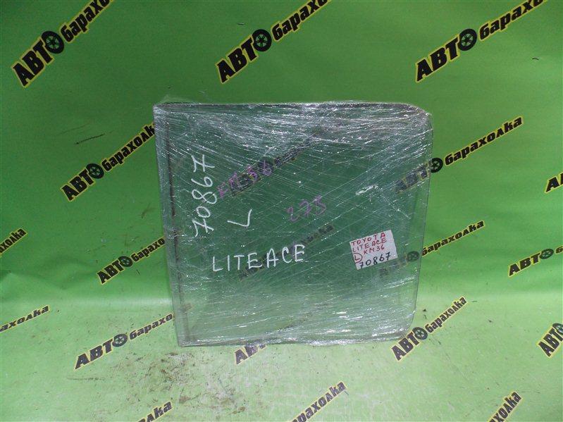 Стекло Toyota Liteace KM36 5K 1989 левое