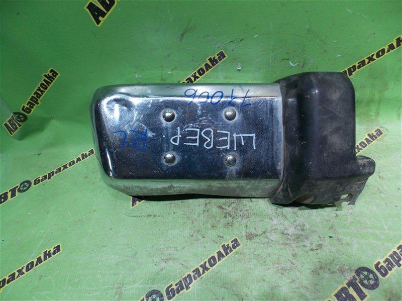 Клык бампера Nissan Safari VRY60 задний левый