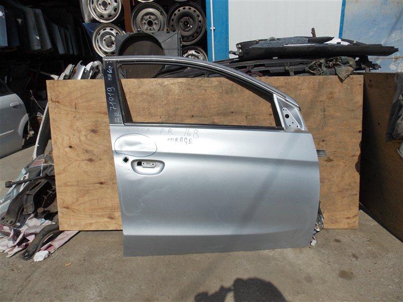 Дверь Mitsubishi Mirage A05A 3A90 2012 передняя правая
