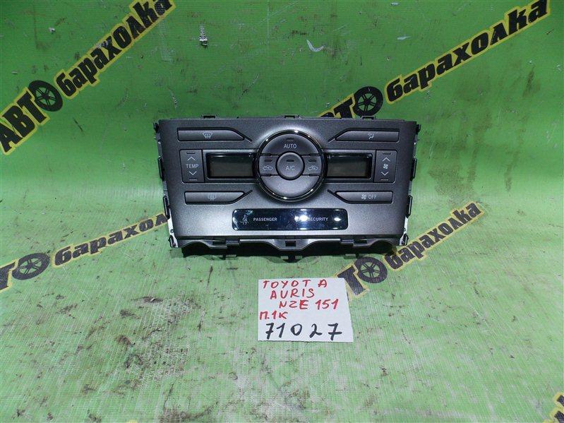 Климат-контроль Toyota Auris NZE151 1NZ-FE 2008
