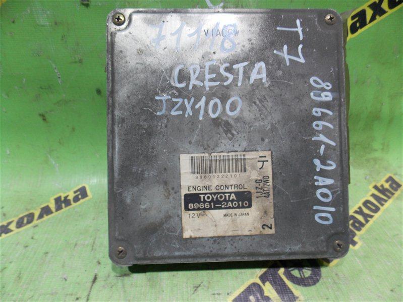 Блок efi Toyota Cresta JZX 100 1JZ-G