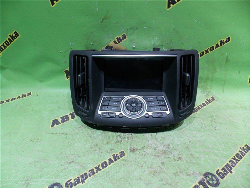 Монитор Nissan Skyline NV36 VQ25(HR) 2007
