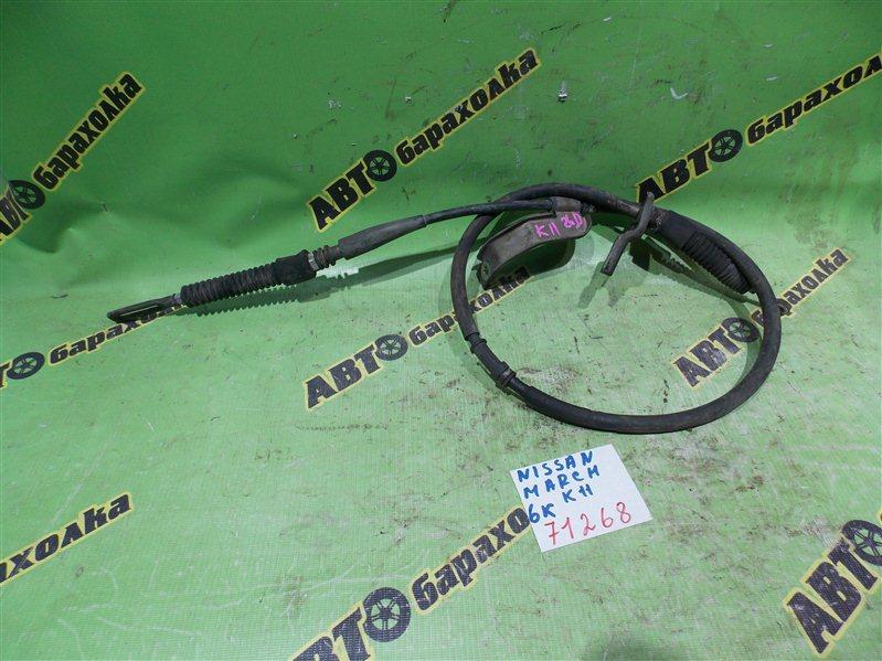 Трос переключения акпп Nissan March K11 CG10(DE) 1999