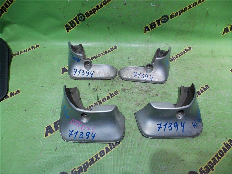 Брызговики комплект Toyota Allion ZZT240 1ZZ-FE 2006