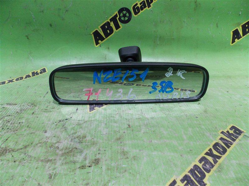 Зеркало заднего вида Toyota Auris NZE151 1NZ-FE 2008