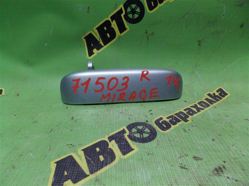 Ручка задней двери Mitsubishi Mirage A05A 3A90 2012 задняя