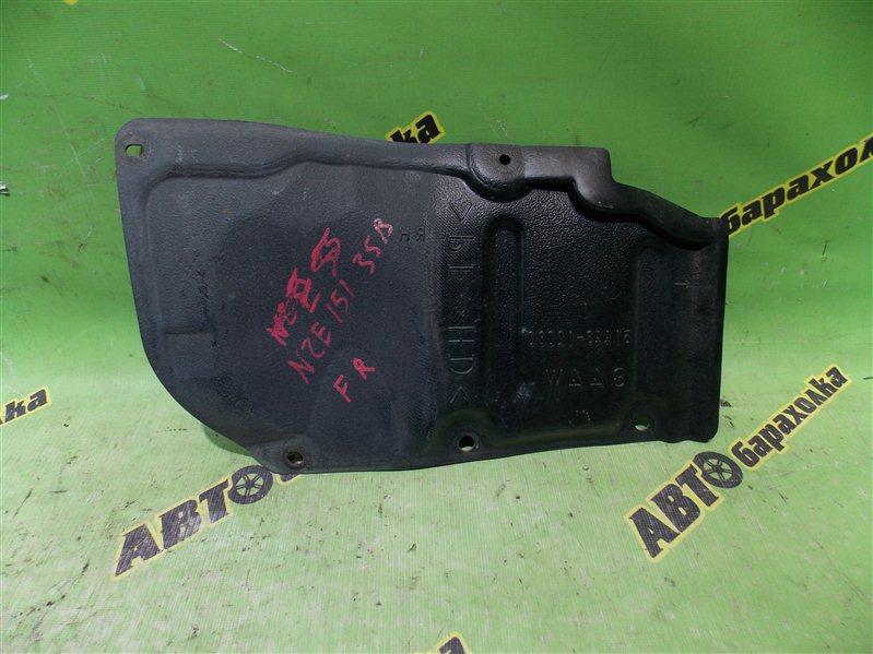 Защита двигателя Toyota Auris NZE151 1NZ-FE 2008 передняя правая