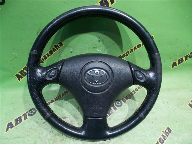 Руль с airbag Toyota Kluger V ACU25 2AZ-FE 2002