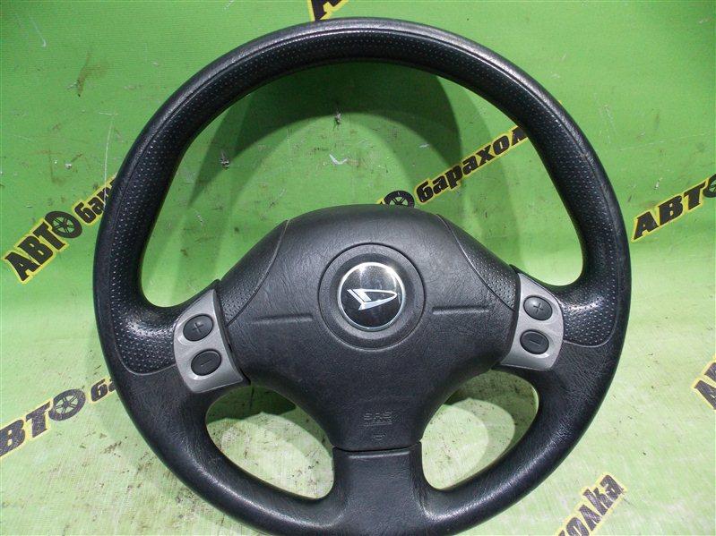 Руль с airbag Daihatsu Yrv M201G K3-VET 2001