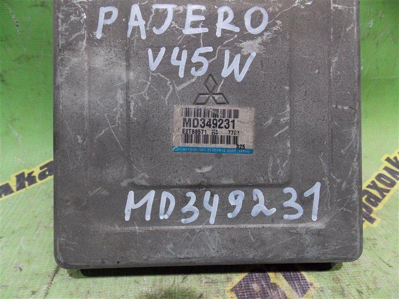 Блок efi Mitsubishi Pajero V45W 6G74