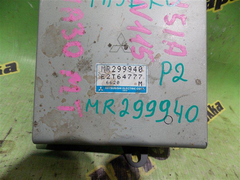 Блок efi Mitsubishi Pajero Mini H51A 4A30