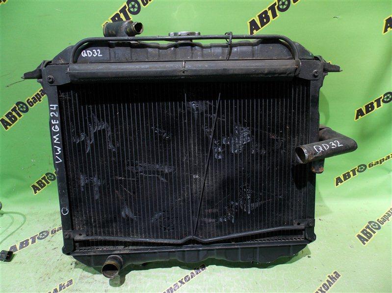 Радиатор основной Nissan Caravan VWMGE24 QD32