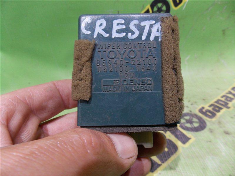 Электронный блок Toyota Cresta GX81 1G-FE