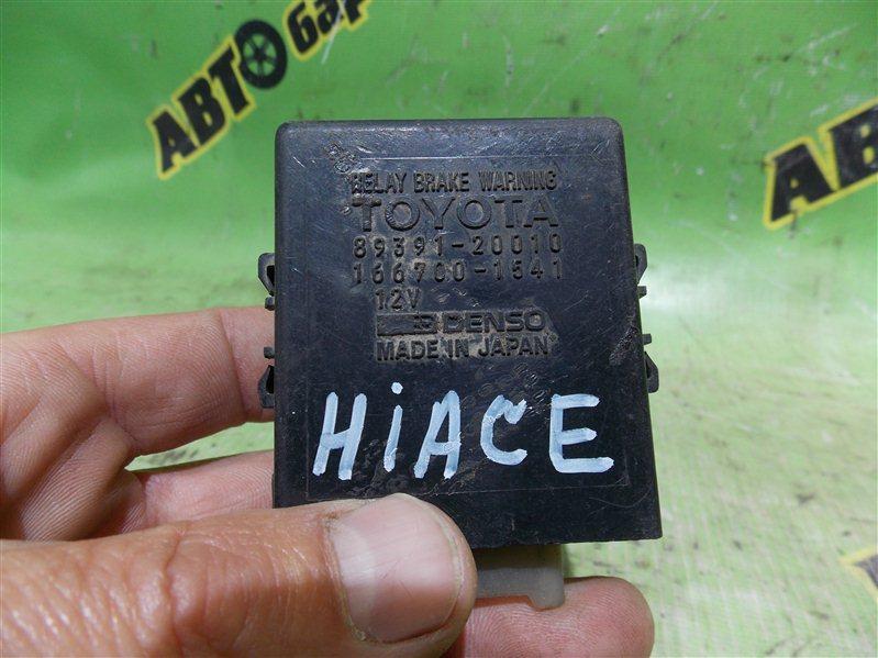 Блок управления климат контролем Toyota Hiace LH178 5L