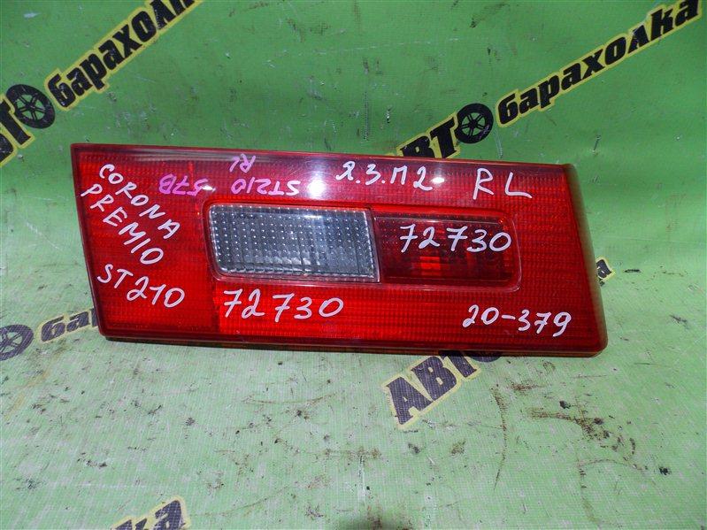 Вставка между стопов Toyota Corona Premio ST210 3S-FE 1997 задняя левая