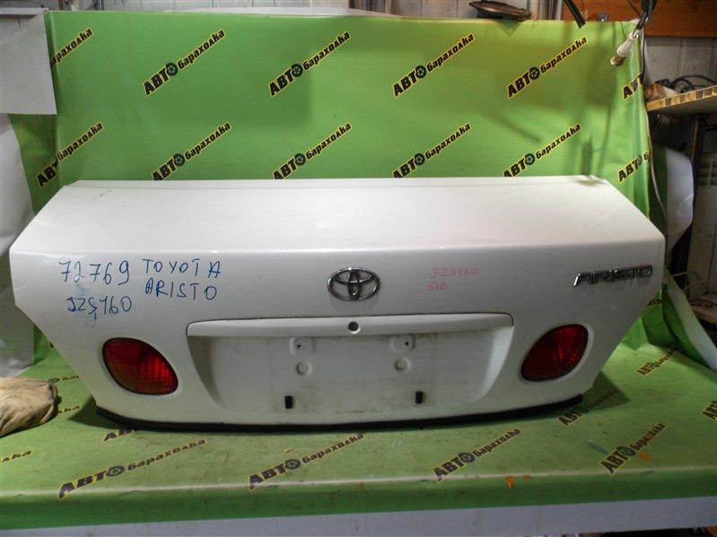 Крышка багажника Toyota Aristo JZS160 2JZ-GE 2003 задняя