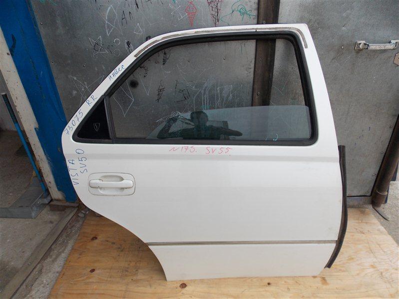 Дверь Toyota Vista Ardeo SV55 3S-FE 1999 задняя правая