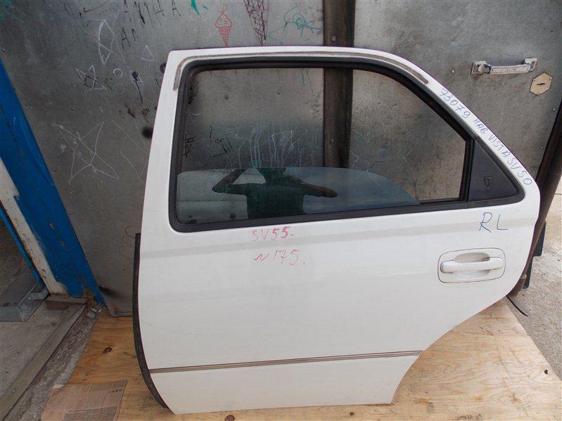 Дверь Toyota Vista Ardeo SV55 3S-FE 1999 задняя левая