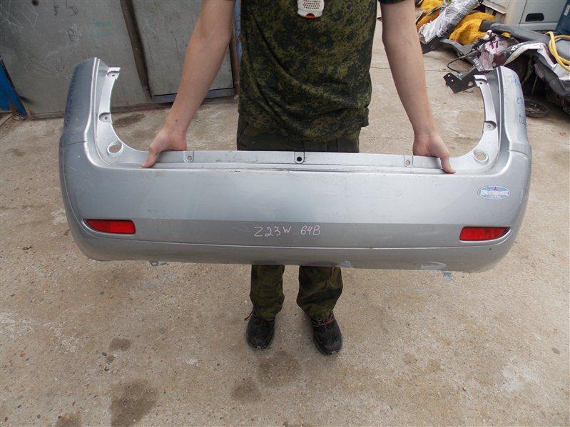 Бампер Mitsubishi Colt Plus Z23A 4A91 2008 задний