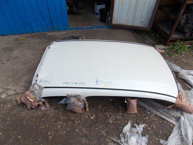 Крыша Toyota Corolla Spacio AE111 4A-FE 2000