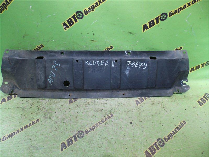 Защита бампера Toyota Kluger V ACU25 2AZ-FE 2002