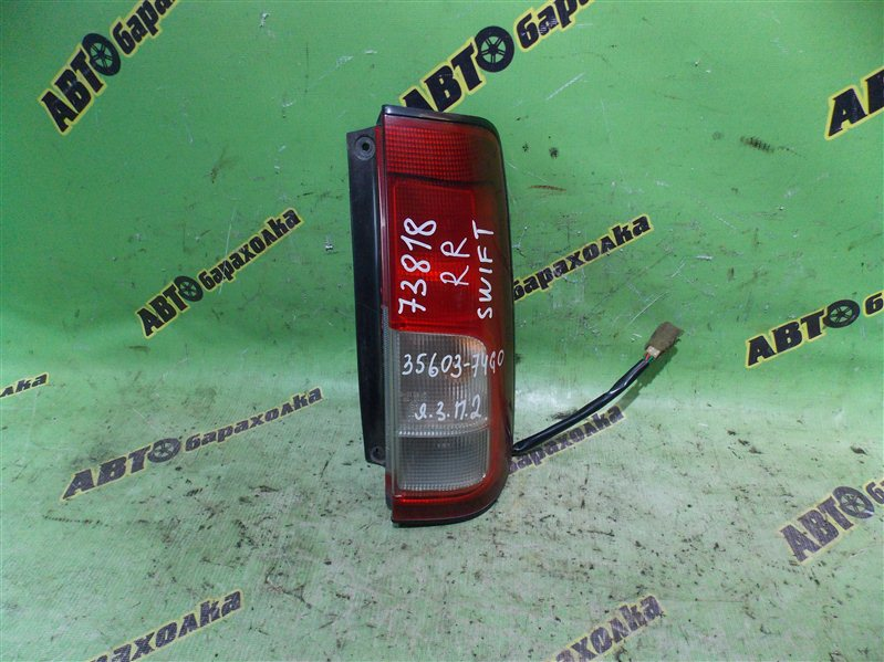 Стоп Suzuki Swift HT51S M13A 2005 задний правый