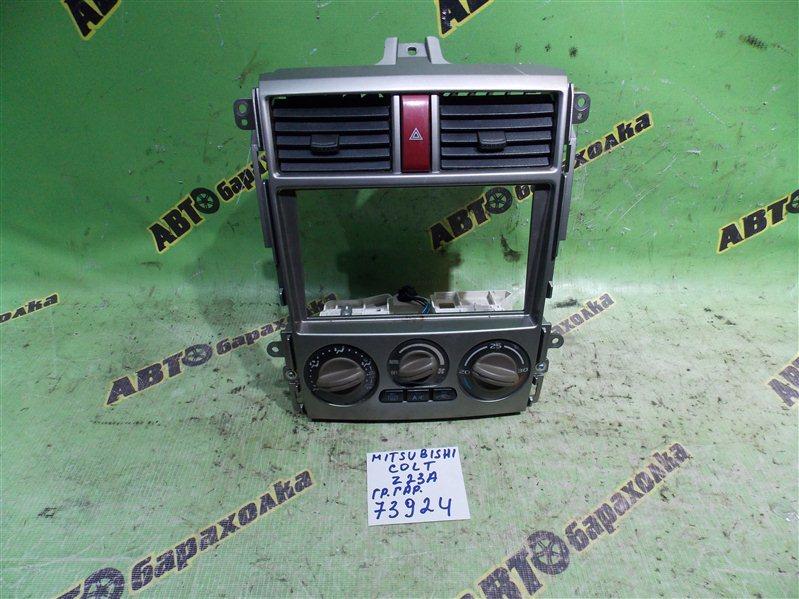 Климат-контроль Mitsubishi Colt Plus Z23A 4A91 2008