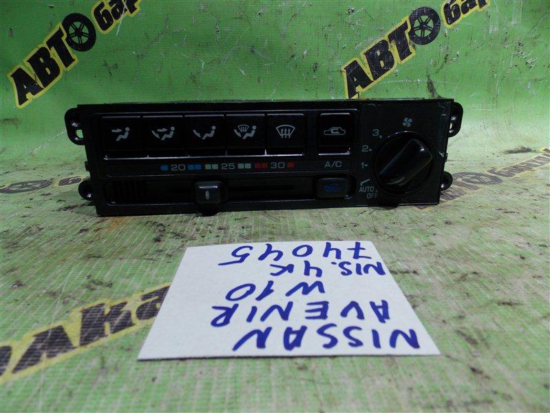 Климат-контроль Nissan Avenir W10 SR18(DE) 1996