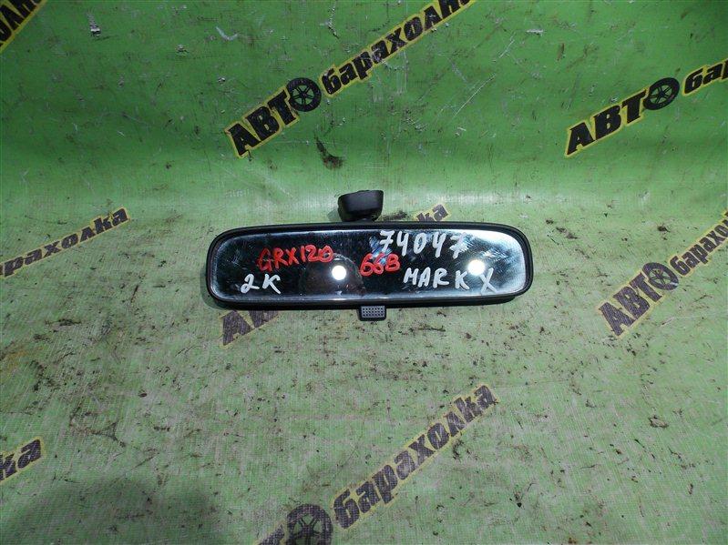 Зеркало заднего вида Toyota Mark X GRX120 4GR-FSE 2006